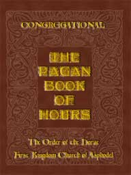 Book of Hours Congregational cover